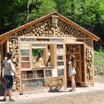4. Insektenhotel XXL: Das Wildbienenhotel